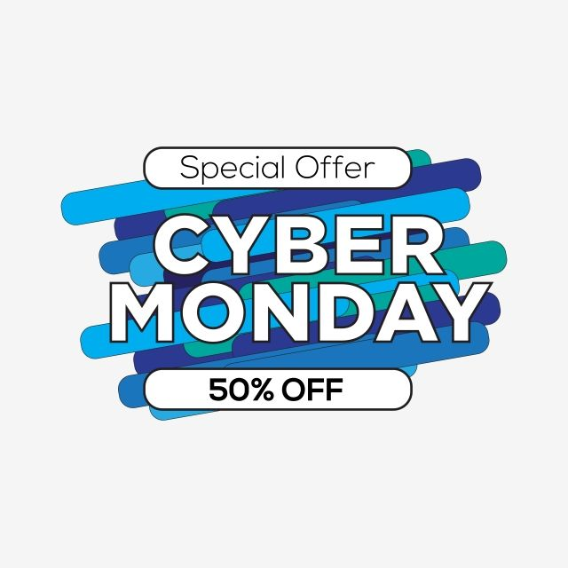 Editable Cyber Monday Special Offer Banner Editable Cyber Monday Png And Vector With Transparent Background For Free Download Cyber Cyber Monday Specials Cyber Monday
