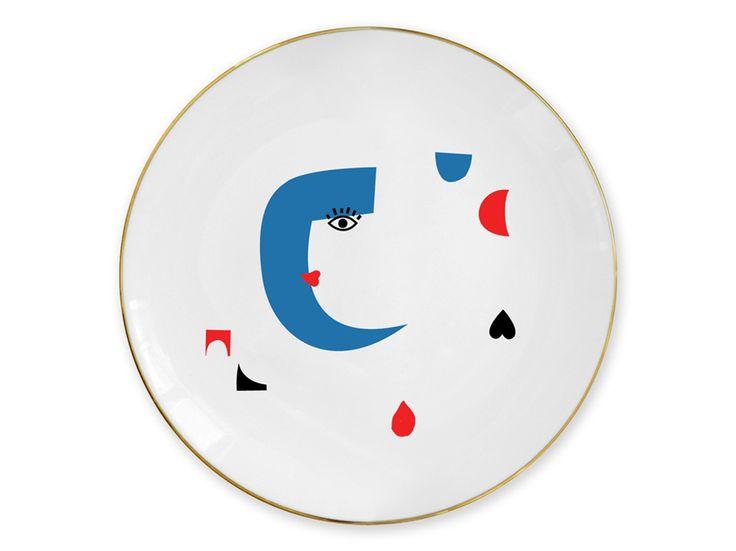 """Cosmos"" plate / Talerz ""Kosmos"""