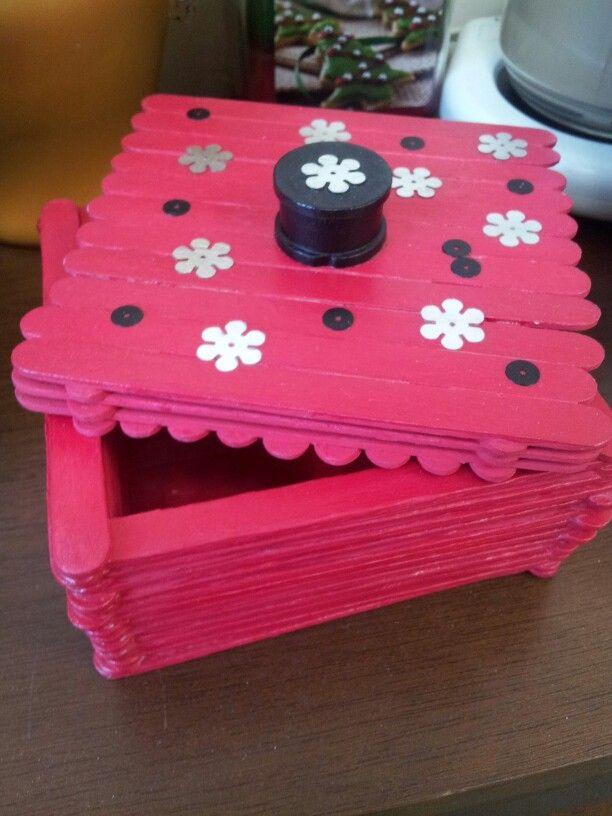popcycle stick trinket box