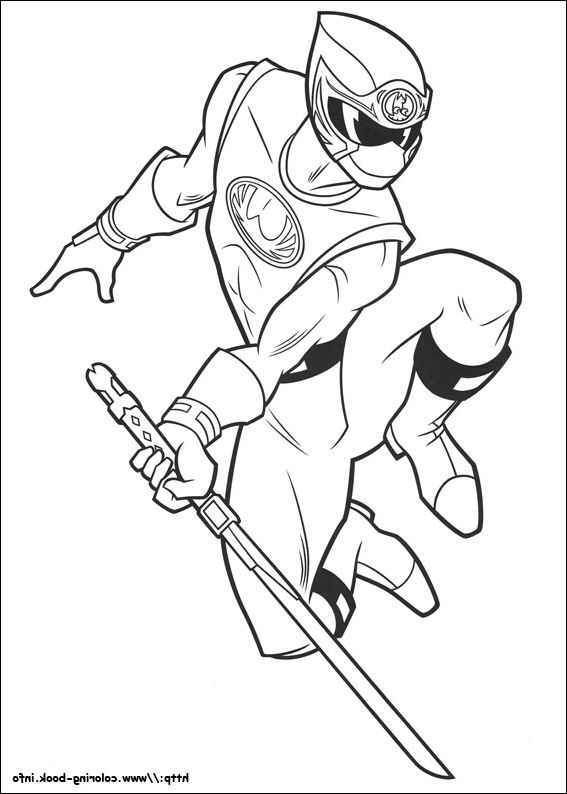 classic power rangers coloring pages - photo #32