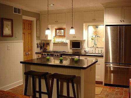 25 best images about condo decorating on pinterest for Small kitchen designs for condos