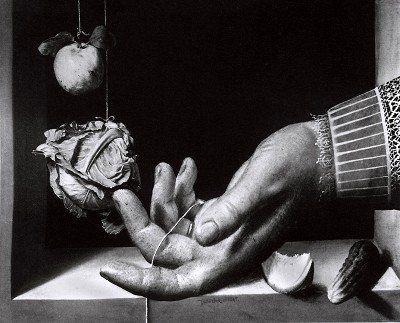 The Hand of Juan Sanchez Cotan 1994, from the series The Seer & The Seen by Paul Kilsby #paulkilsby #nickyakehurst #akehurstcreativemanagement