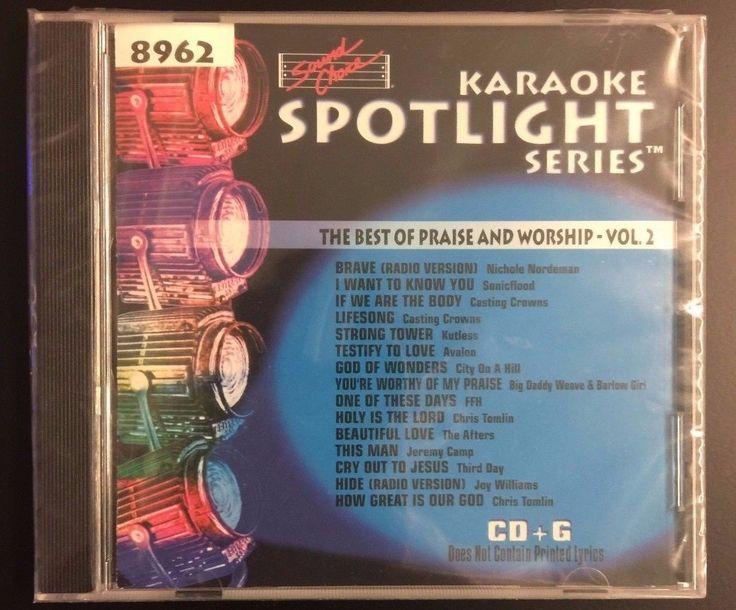SOUND CHOICE KARAOKE SPOTLIGHT CDG THE BEST OF PRAISE AND WORSHIP VOL. 2 8962