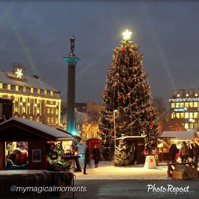 Christmas Market in Trondheim (2012). Photo: Instagramuser @mymagicalmoments