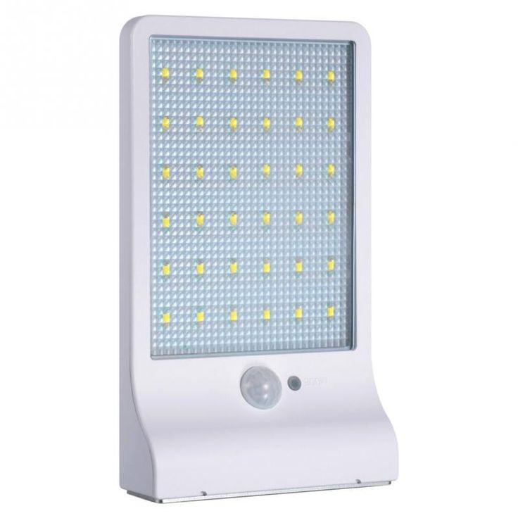 36LED Solar Lights Wall Sconces with Mounting Pole Outdoor Motion Sensor Detector Light-  Is Bulbs Included: Yes  Power Source: Solar  Voltage: 6V  Certification: CCC  Body Material: ABS  Light Source: LED  Style: Contemporary  Protection Level: IP65  Warranty: /  Is Dimmable: No  Model Number: ELQ150-151  Features: Motion Sensor  Usage: Emergency  Item Type: Wall Lamps -   Related: 36LED #Solar #Lights #Wall #Sconces #with #Mounting #Pole #Outdoor #Motion #Sensor #Detector #Light