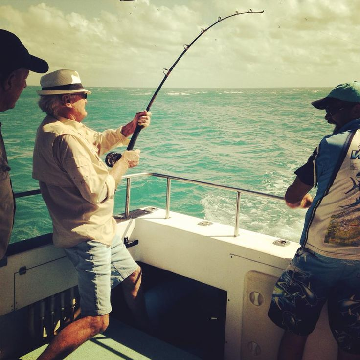 Fishing with Gove Sports Fishing Charters. www.govefish.com.au