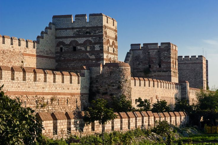 These impressive defensive walls were erected around the new Roman capital and proved to be extremely effective. A must see for history and architecture lovers.