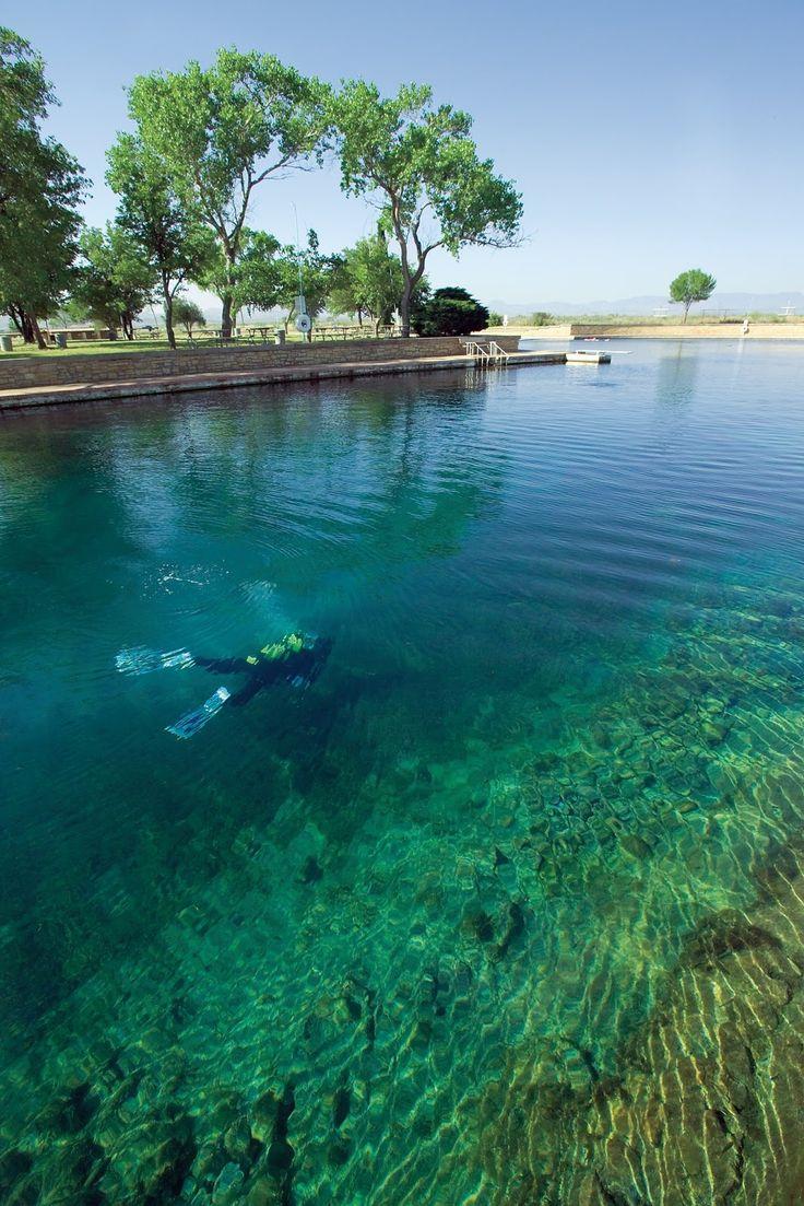 Balmorhea State Park... scuba diving in the desert?!