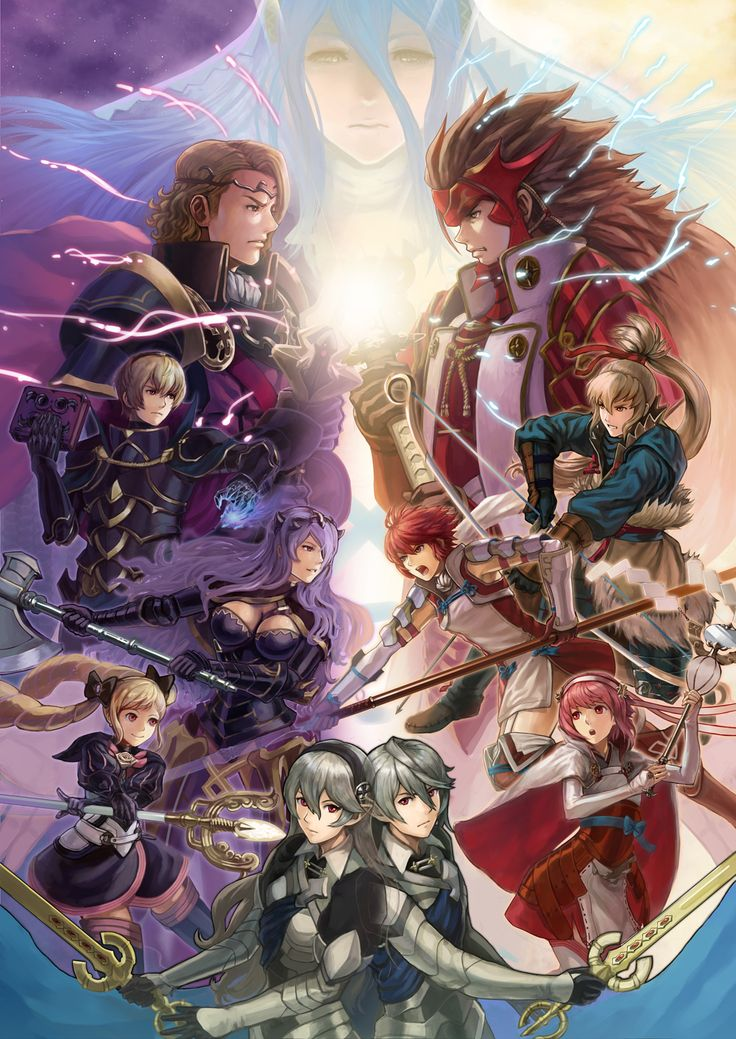 Fire Emblem Fates by goma folio