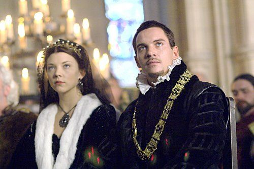 Still of Jonathan Rhys Meyers and Natalie Dormer in The Tudors