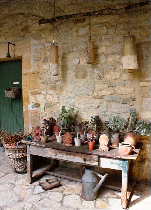 Foto: Decoração rústica | Reutilizar o antigo