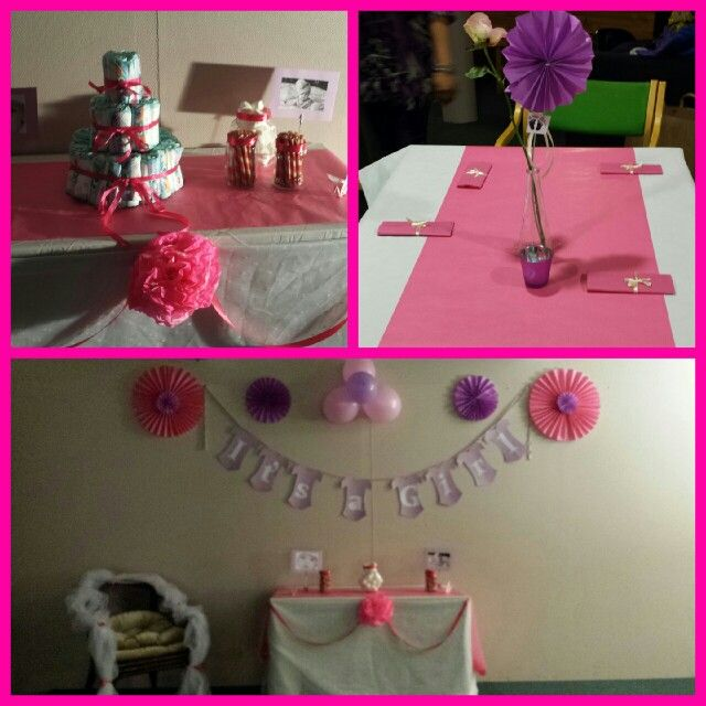 Baby shower its a girl.