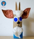 Sprookjes: De wolf en de zeven geitjes - geitje knutselen