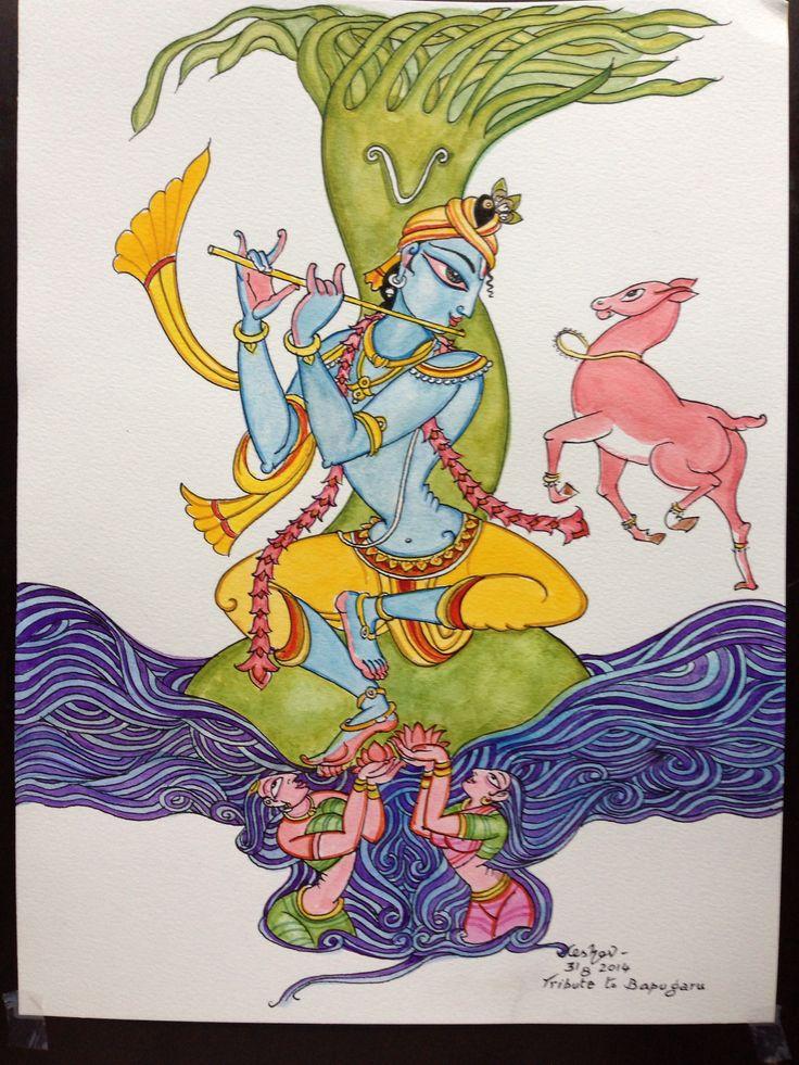 Tribute to the legend Bapugaru. #krishnafortoday