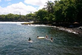 Discovering Hawaii Big Island Guidebook Online: Hawaii Guide to the best bargains in gourmet restaurants, hotels, Waikoloa Resort, Kona resorts, vacation packages, as well as secret beaches, waterfalls and hiking.