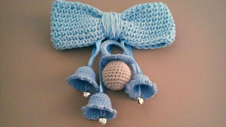 CANAL CROCHET: Chupete y campanas a crochet: