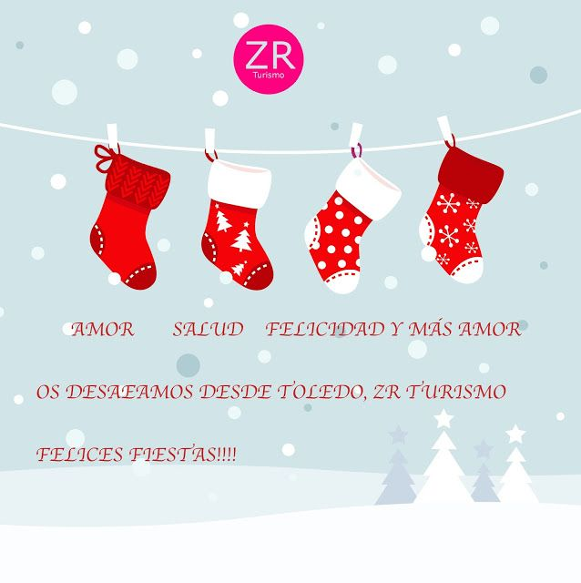 Alquiler de Apartamentos Turísticos en Toledo: ZR Turismo os desea Felices Fiestas