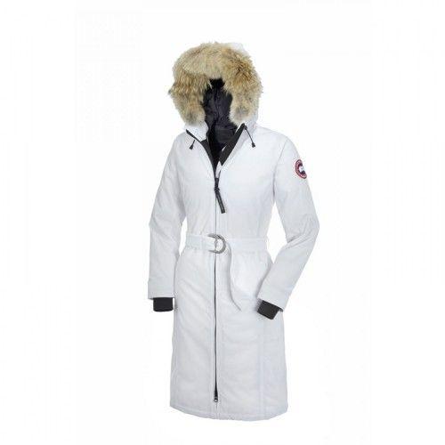Doudoune Parka Canada Goose Femme pas cher- Parka Canada Goose Whistler Blanc Femme