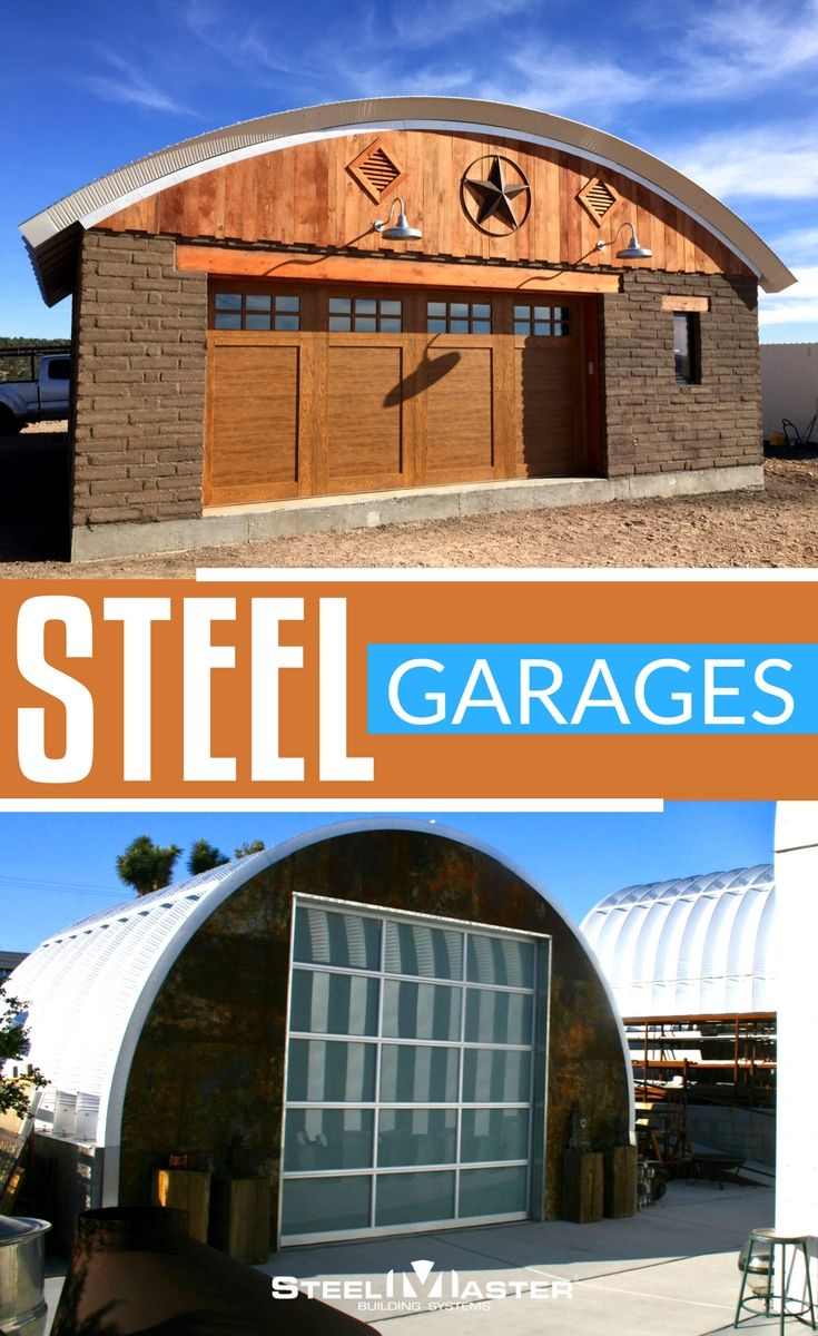 The 25 best diy garage kits ideas on pinterest all purpose home steel arch garage buildings from steelmaster solutioingenieria Choice Image