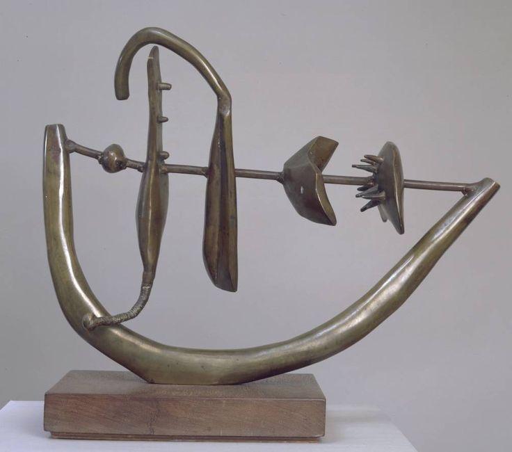 Eduardo Paolozzi, Forms on a Bow, 1949