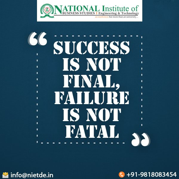 Pin By National Institute Of Engineering And Technology
