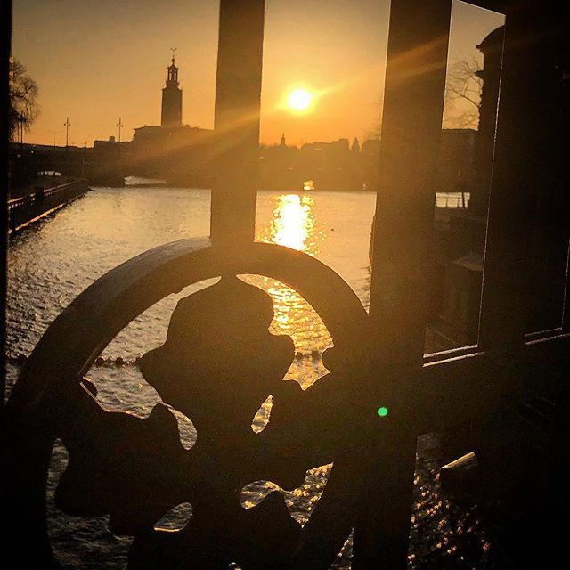 40 minutes to sunset #cityhall #almostsunset #stockholm #visitstockholm #visitsweden #sweden #ig_sweden #capitalofscandinavia #photobydavidfeldt #travel #ttot
