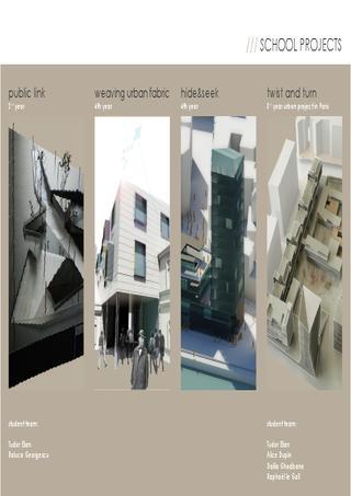 TUDOR ELIAN architecture portfolio