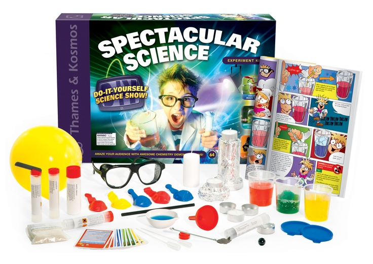 101 best educational toys for kids images on pinterest children spectacular science contains the lab equipment materials and chemicals your child needs to put on five dazzling science shows while also learning how to solutioingenieria Gallery