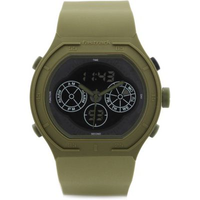 Buy Fastrack 38008PP02J Green Chronograph Watch by E TRADERS RETAIL, on Paytm, Price: Rs.3295?utm_medium=pintrest