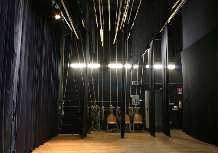"""Le #quinte, dal latino""""quintus"""",così chiamate perchè anticamente venivano costruite a cinque facce girevoli. #TEATRO CECCHETTI - #TeatriDICivitanova http://www.tdic.it/teatro-enrico-cecchetti/"""