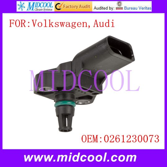 New Intake Manifold Pressure Sensor MAP Sensor use OE No. 0261230073 for Volkswagen Audi