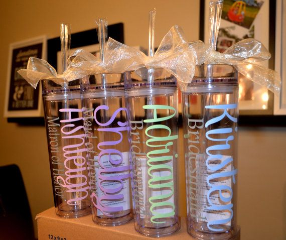 Hey, I found this really awesome Etsy listing at https://www.etsy.com/listing/229953861/one-personalized-tumbler-bridesmaid