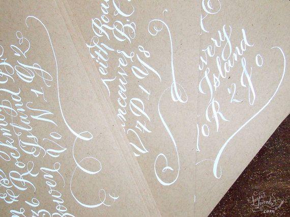 Calligraphie  Adressage des enveloppes  par LavenderCalligraphy, $3.00