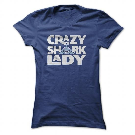Shark Lady - #tee spring #logo tee. LIMITED TIME => https://www.sunfrog.com/Fishing/Shark-Lady-NavyBlue-56391687-Ladies.html?68278