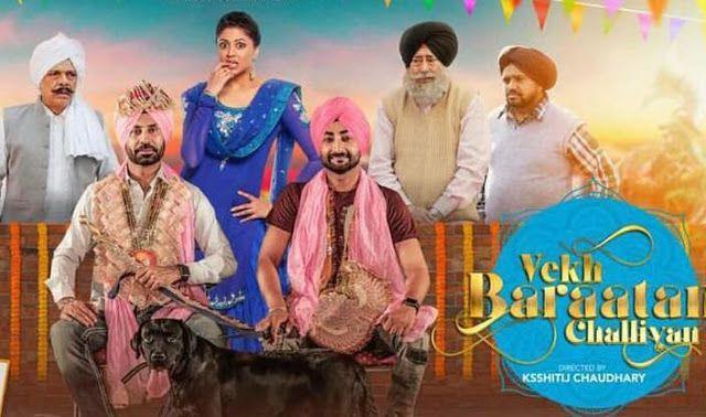 Vekh Baraatan Challiyan 2017 Full Punjabi Movie Watch Online Hd