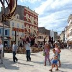 main square Rovinj