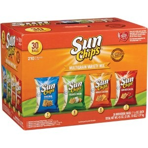 frito lay inc sun chips multigrain snacks Search results for frito lay variety pack at jetcom  frito lay multipack chips, classic mix,  sun chips multigrain snacks variety pack, 167 oz,.