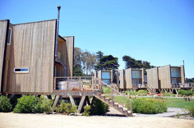 Lodge del Mar by Loft 7 Studio ~ Location: Pichilemu, O'Higgins Region, Chile.