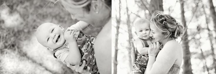 Outdoor Mother and Child - Dunedin Family Photographer