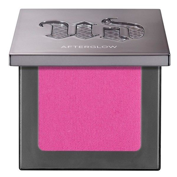 Urban Decay Afterglow 8-Hour Powder Blush ❤ liked on Polyvore featuring beauty products, makeup, cheek makeup, blush, beauty, urban decay, powder blush and urban decay blush