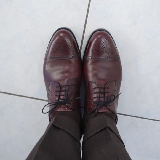 #shoes #vass #budapest #captoes #mto #burgundy