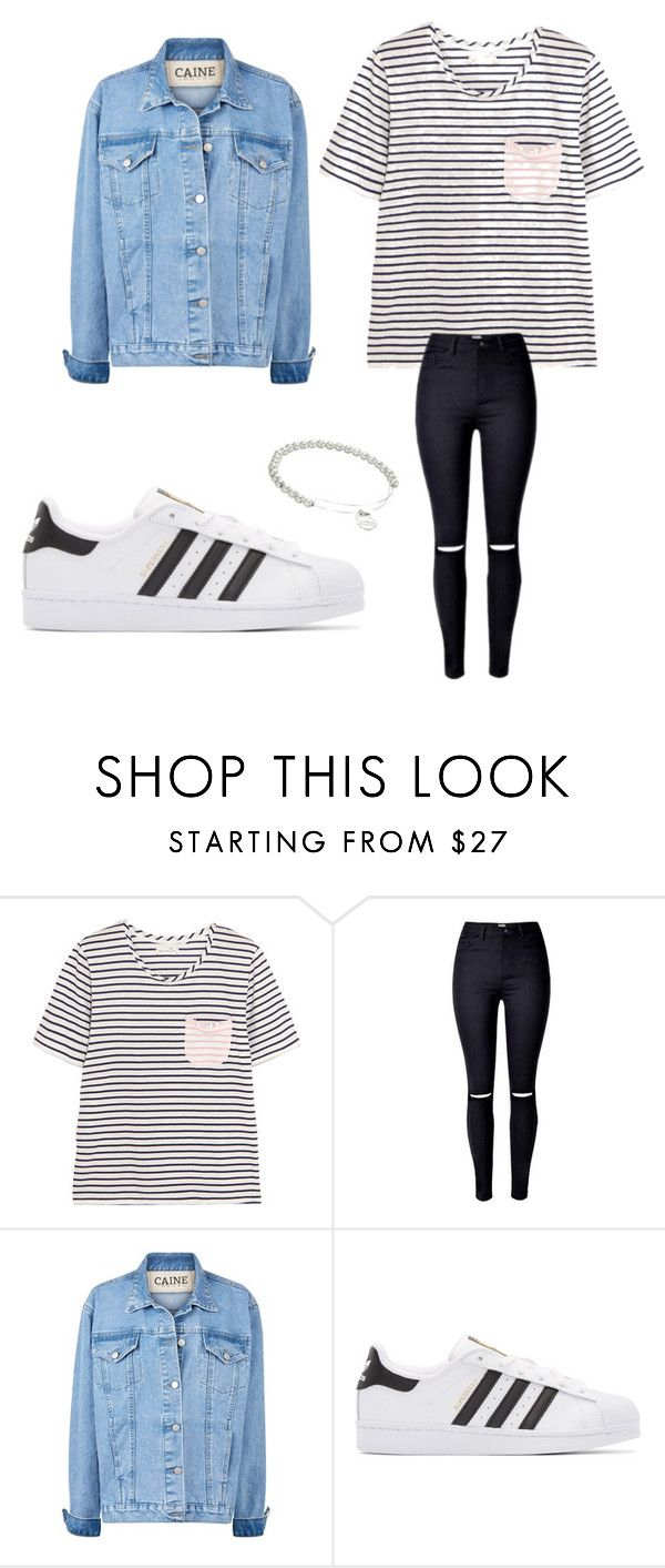 """""""Untitled #136"""" by adrianna-nicole-smith ❤ liked on Polyvore featuring Chinti and Parker, adidas Originals and Alex and Ani"""