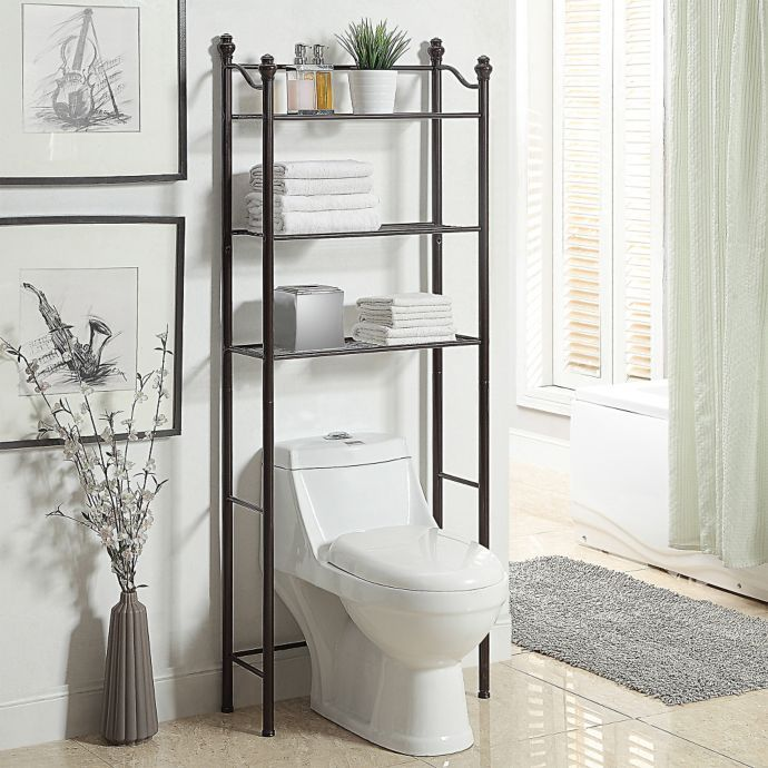 Neu Home Belgium Over The Toilet Space Saver In Oil Rubbed Bronze