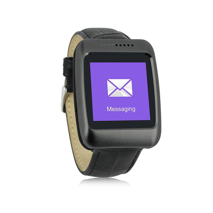 Mode Leder Handgelenk Smart Uhr N4, Bluetooth 4,0 Smartwatches mit Schrittzähler, Sync-nachricht, sitzende erinnerung //Price: $US $56.70 & FREE Shipping //     #smartwatches