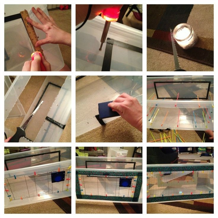 Les 104 meilleures images du tableau hamster diy sur for Hamster bin cage tutorial