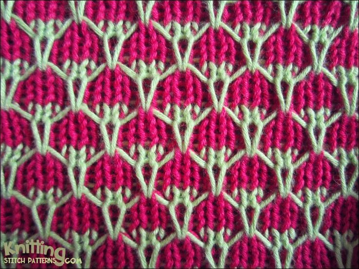 The 119 Best Knitting Two Colors Images On Pinterest