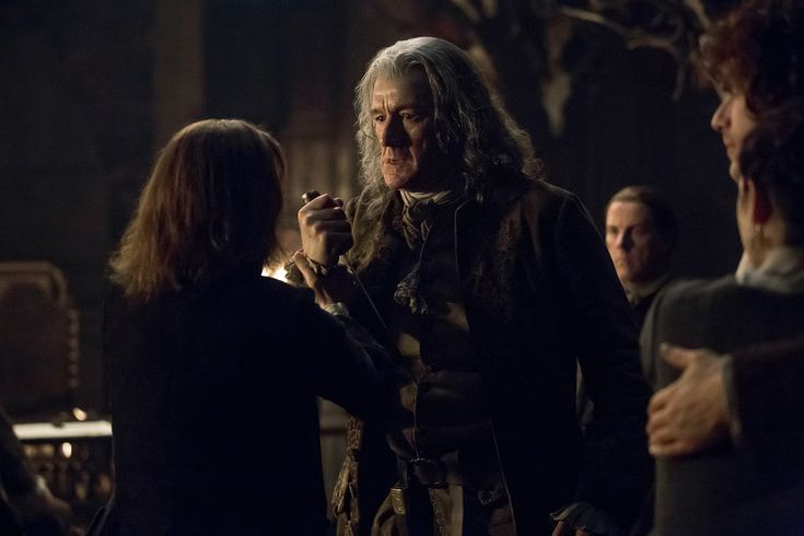 Clive Russell from Access Hollywood interview as Lord Lovat.