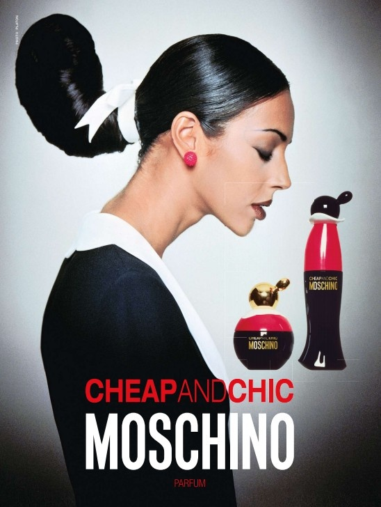 moschino old classic reminds me of the nineties