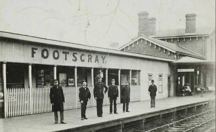 Footscray Station 1950's