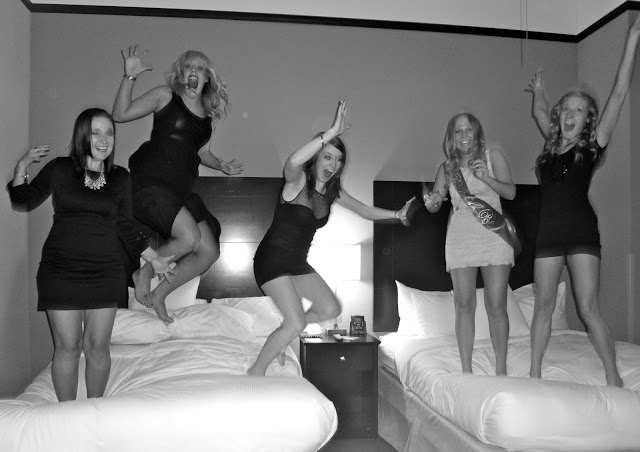 bacheloretter party pic.. black dress party